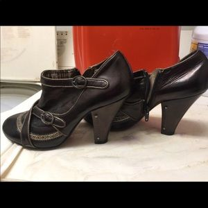 Bobbi Blue Ankle Boots